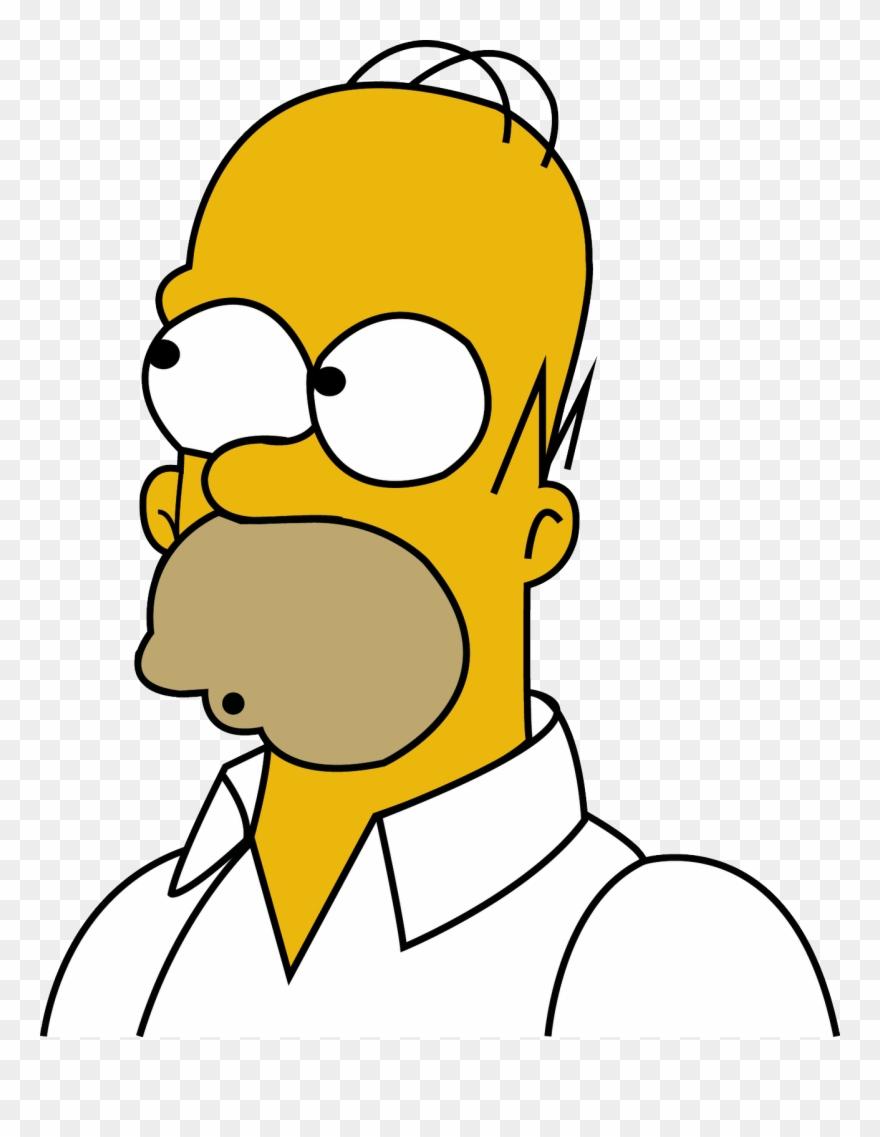Homer Simpson Clipart (#2029421).