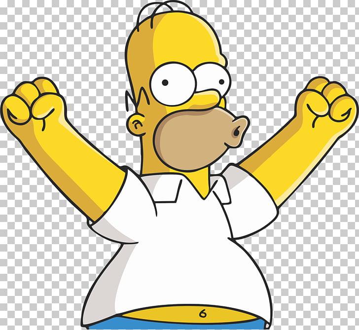 Homer Simpson Mr. Burns Waylon Smithers Maggie Simpson Lisa.