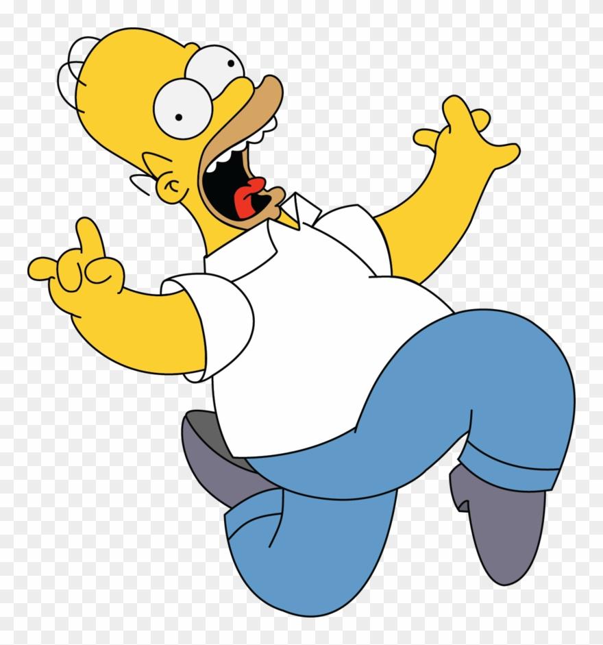 Homer Simpson Bart Simpson Clip Art.