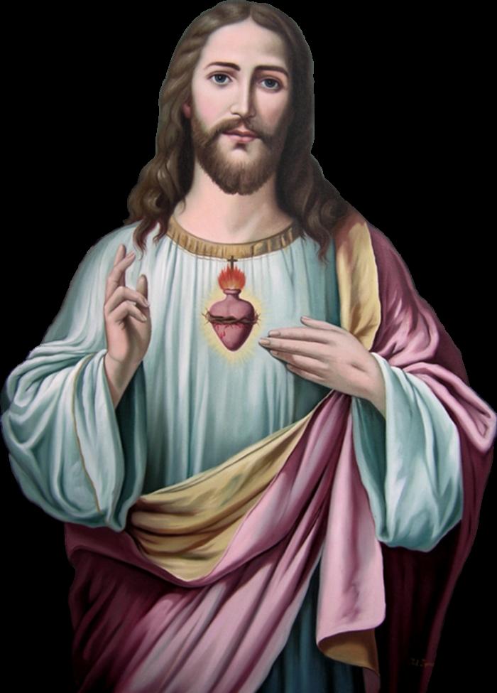 Corazon De Jesus Png Vector, Clipart, PSD.