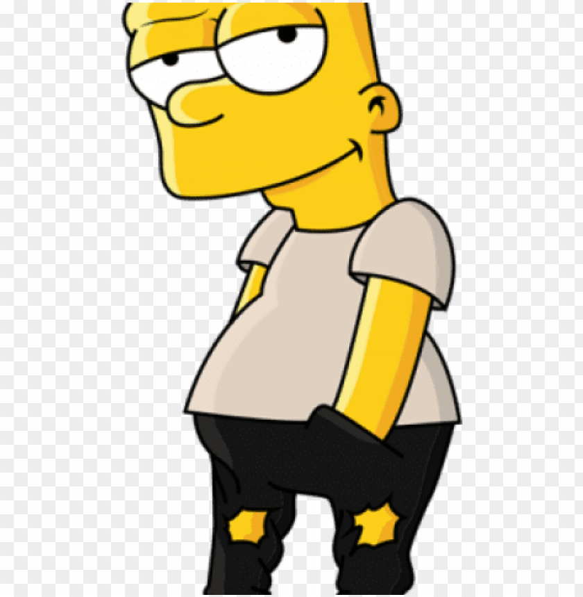 bart simpson clipart simpsons character.
