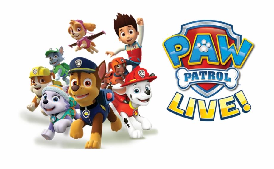 Paw Patrol Live.