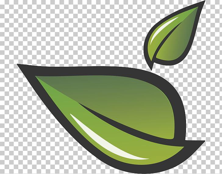 Hoja verde de las redes sociales negocio de folletos, hojas.