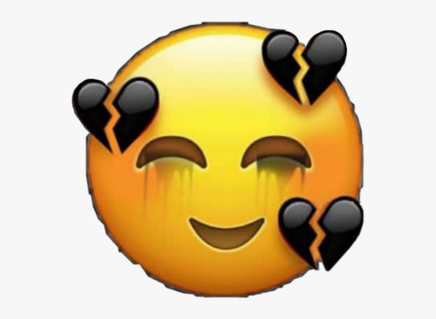 Transparent Crying Laughing Emoji Png.