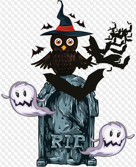 2 PNG photo frame and a set of clipart png for Halloween ( free 132.
