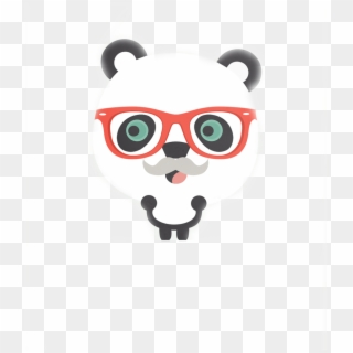 Hipster Panda Png By Geneeditions.