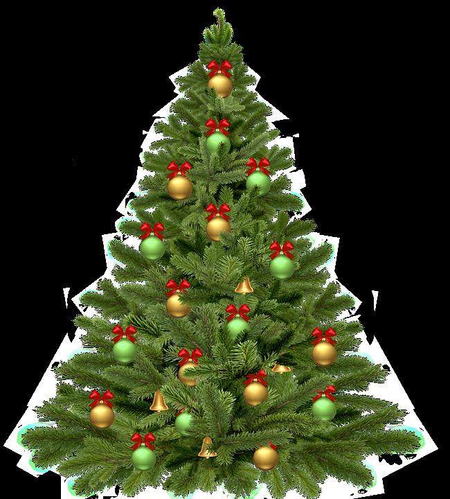 Arboles de navidad png con fondo transparente.