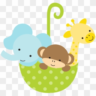 Free Animalitos Bebes Baby Shower Png Transparent Images.