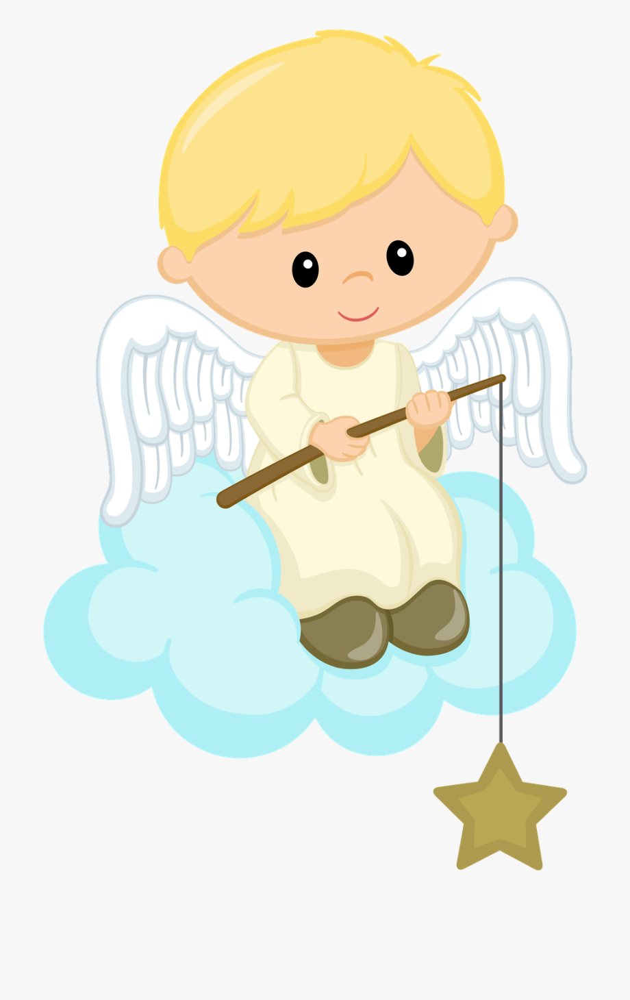 Angelitos Para Bautizo , Transparent Cartoon, Free Cliparts.