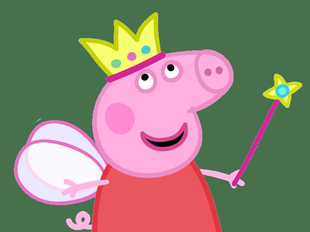 Peppa Pig Queen transparent PNG.