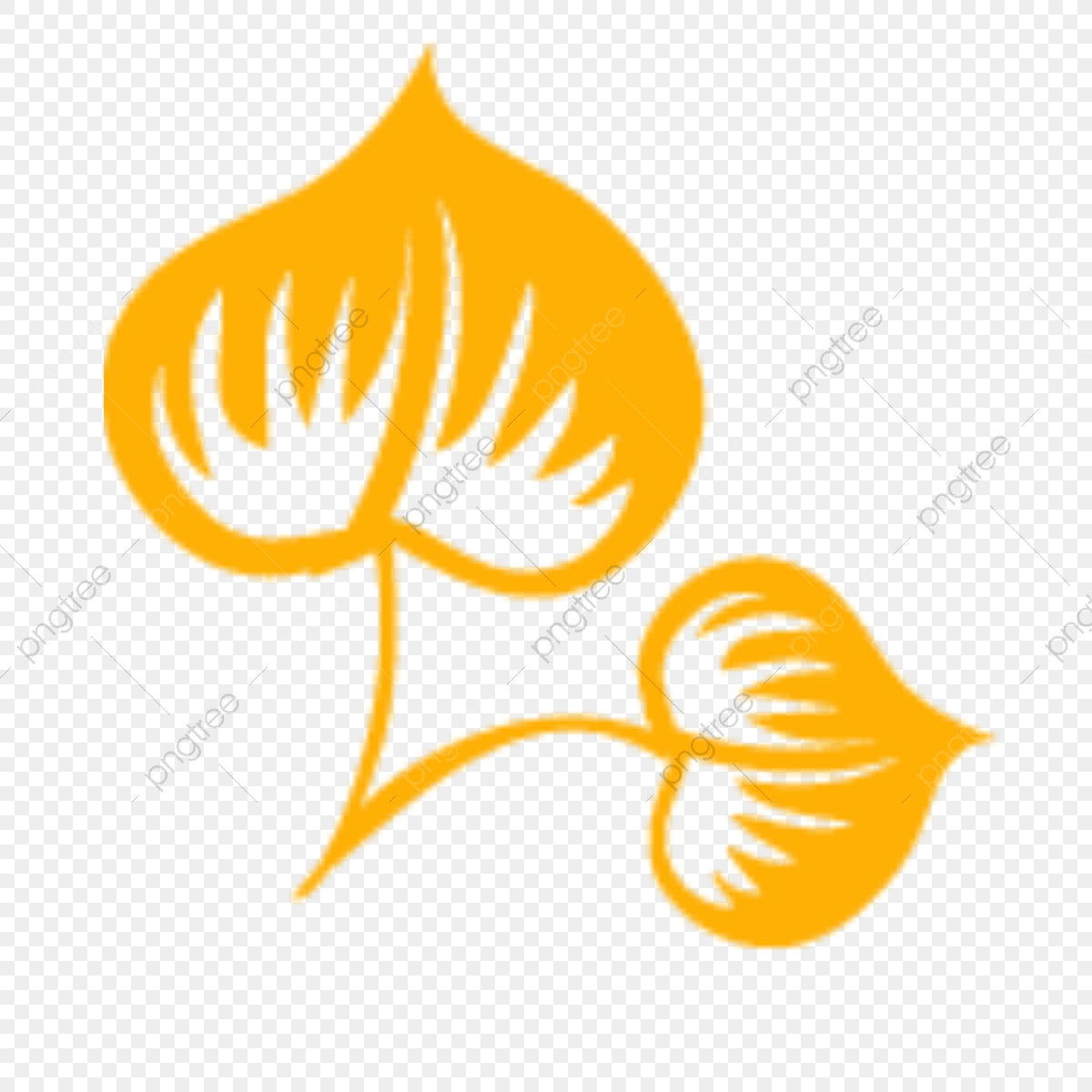 Leaf Vector Logo Sin Fondo Png, Vector Logo Hoja Hoja Hoja De Fondo.