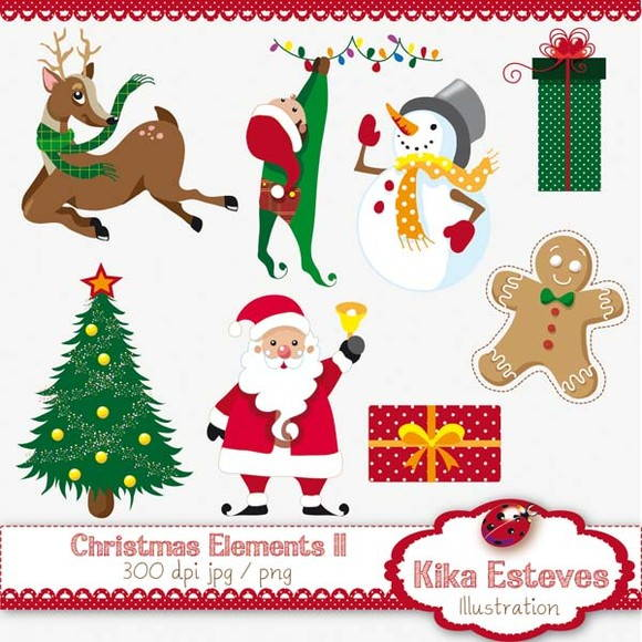 Clipart natal 2 » Clipart Station.