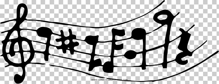Black and white Music Drawing Coloring book , NOTAS MUSICAIS.
