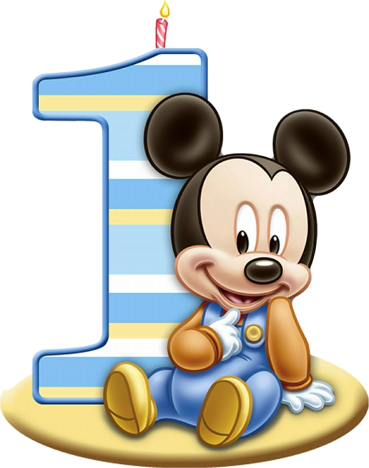 Mickey baby 1 ano png clipart images gallery for free download.