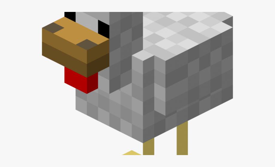 Minecraft Clipart Chiken.