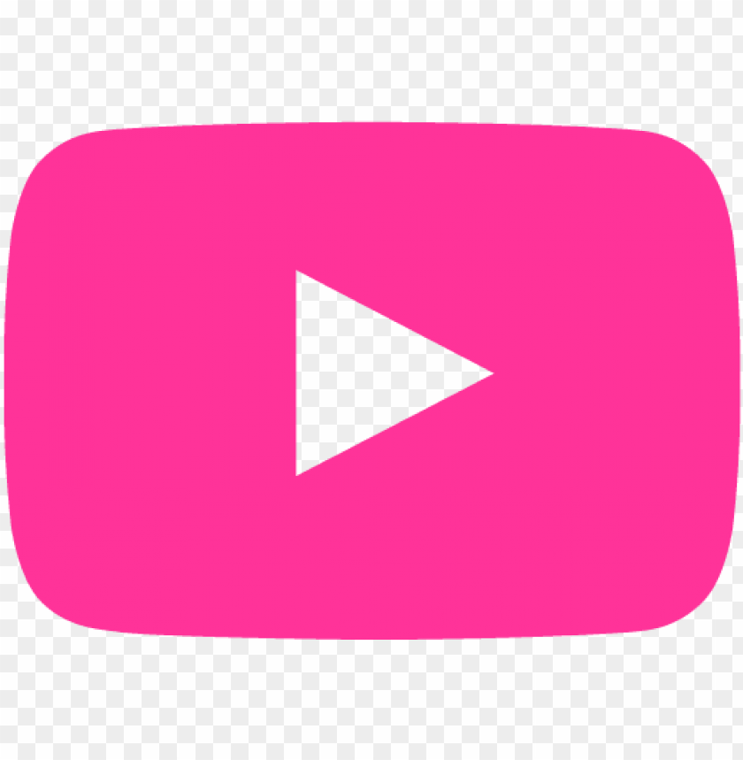 transparent youtube pink.