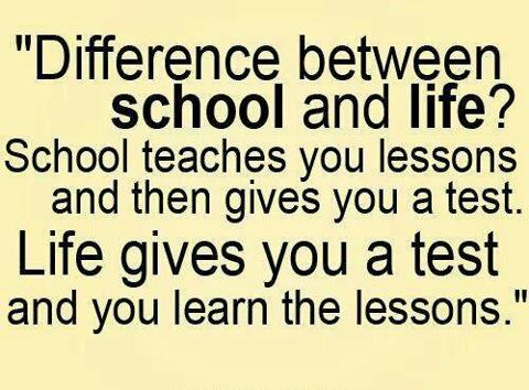 Quotes about School of life (247 quotes).