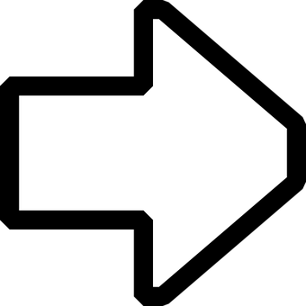 Arrow, Pointing, Right.
