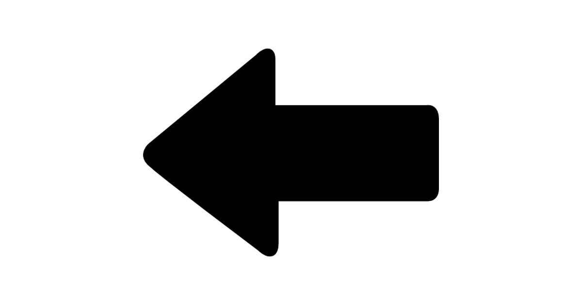 Left pointing arrow.