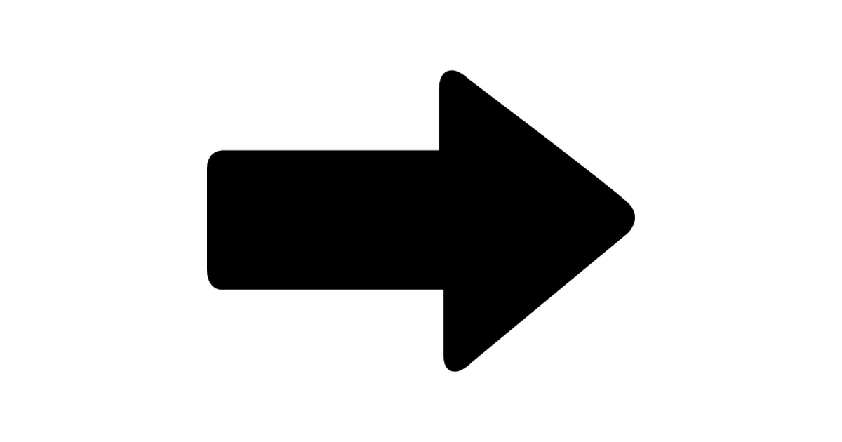 Direction Arrow Pointing Right.