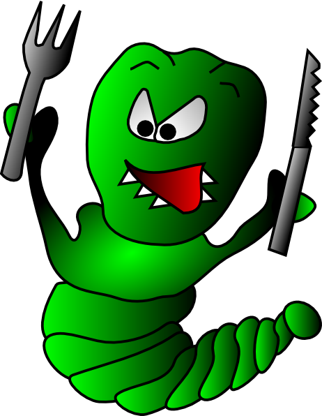 Free to Use & Public Domain Caterpillar Clip Art.