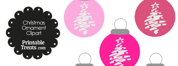 Images of christmas ornaments clipart light grey.
