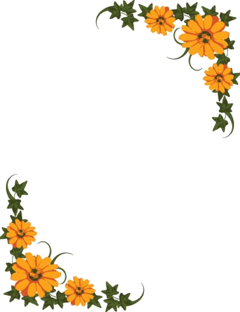 September Clipart Borders Free Cliparts Images On Transparent Png.