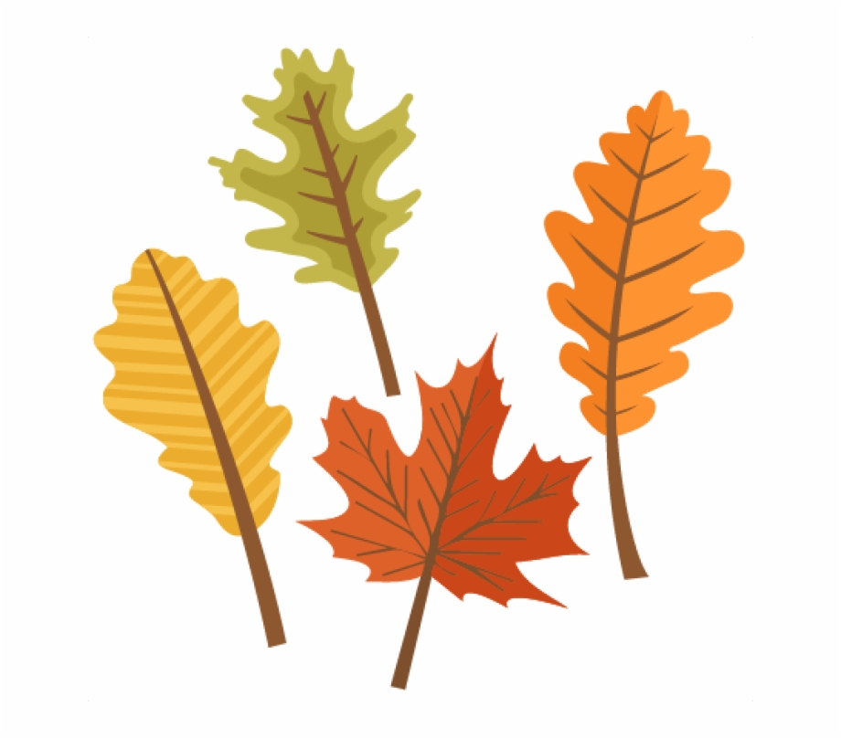 Fall Leaves Clip Art.