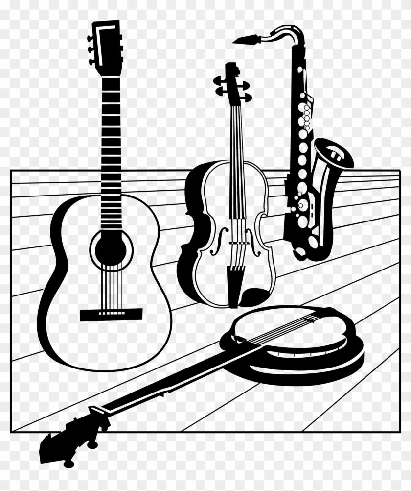 Classical Guitar Silhouette At Getdrawings.