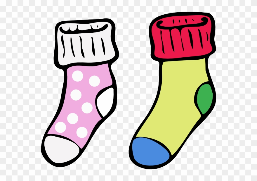 Colouring Pictures Of Socks Clipart (#316468).