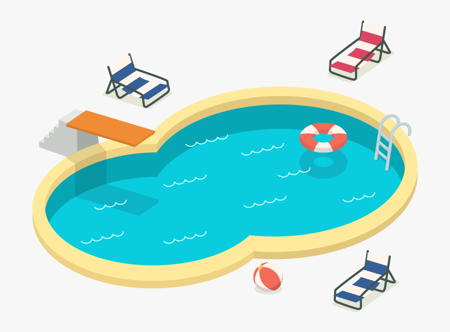 Swimming Pool Recreation Born To Swim Clip Art.
