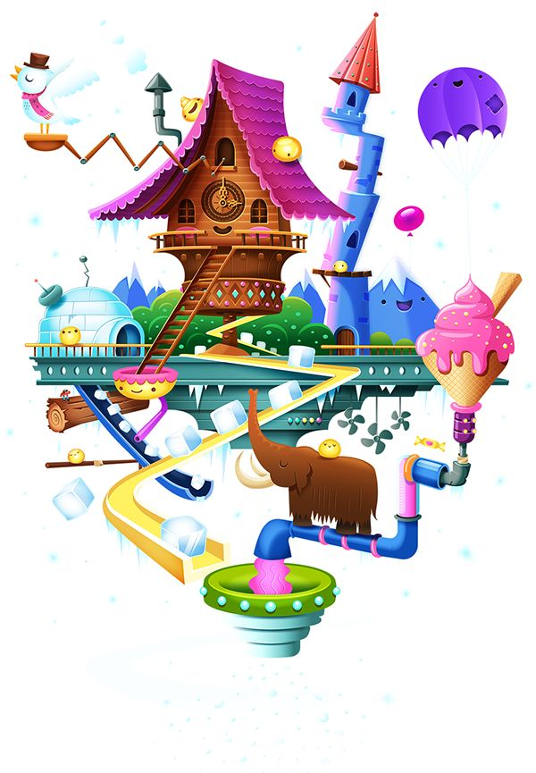 imaginary world clipart #9