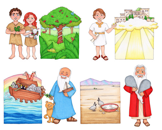 Follow The Prophet Clip Art by SusanFitchDesign on Etsy.