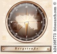 Bergstrasse Clip Art Vector Graphics. 2 bergstrasse EPS clipart.