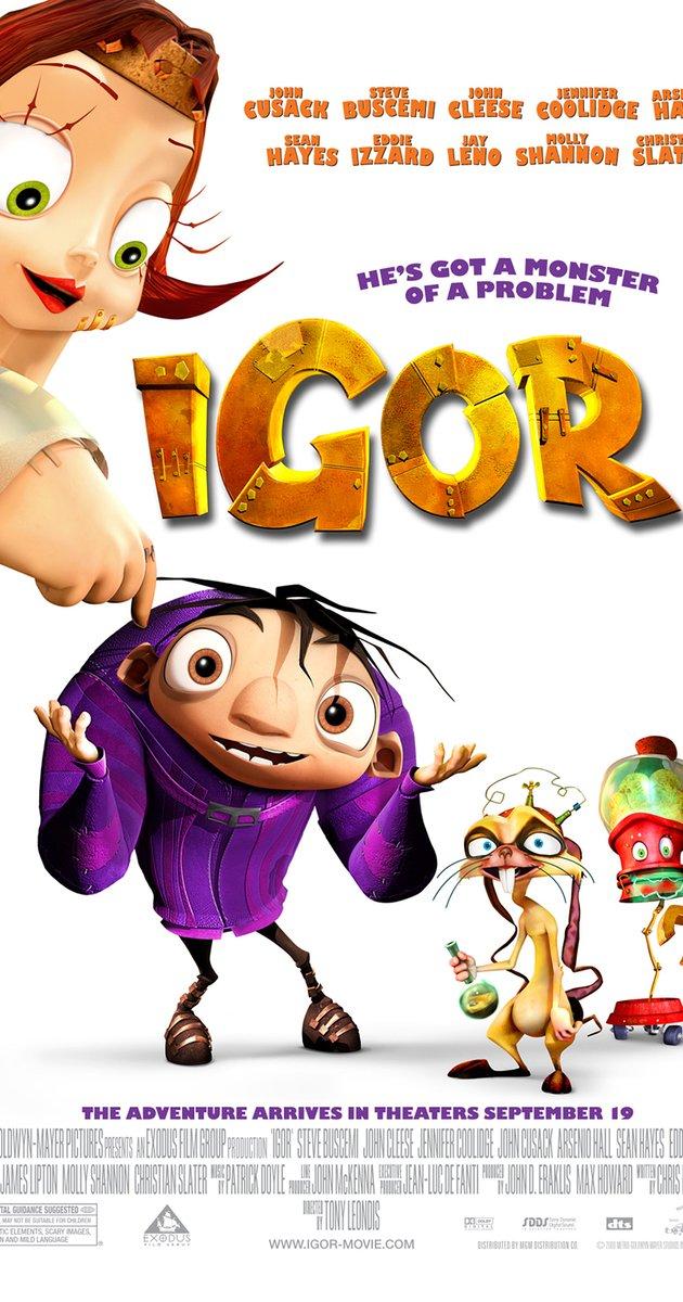 Igor Cartoon Movie.