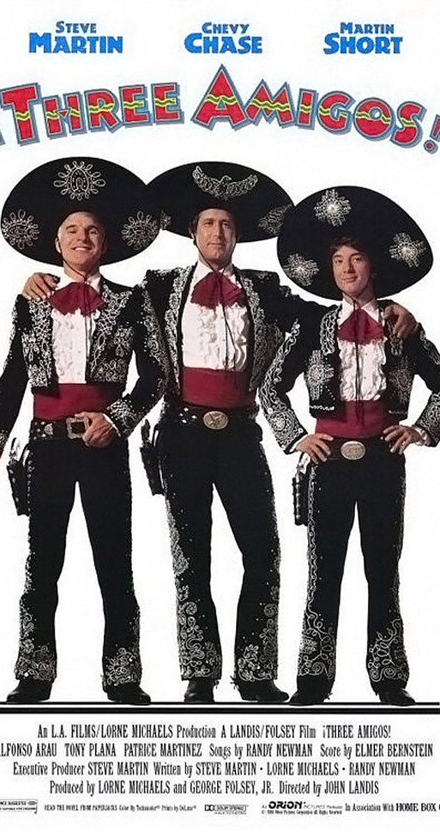 Three Amigos! (1986).