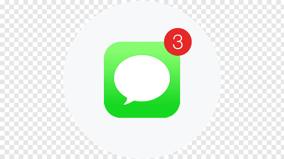 WeChat application logo, iPhone Text messaging iMessage.