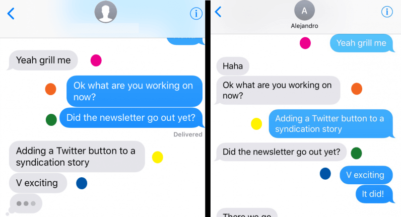 Yes, Apple's iMessage is totally screwing up the order of your texts.