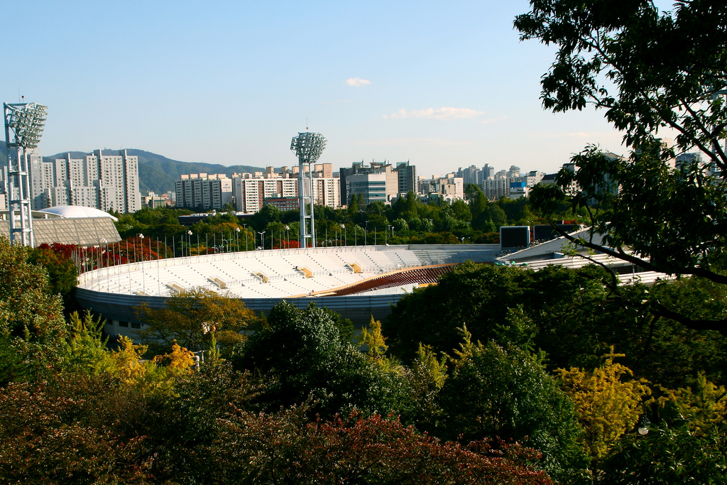 Olympic Velodrome, South Korea 2019.