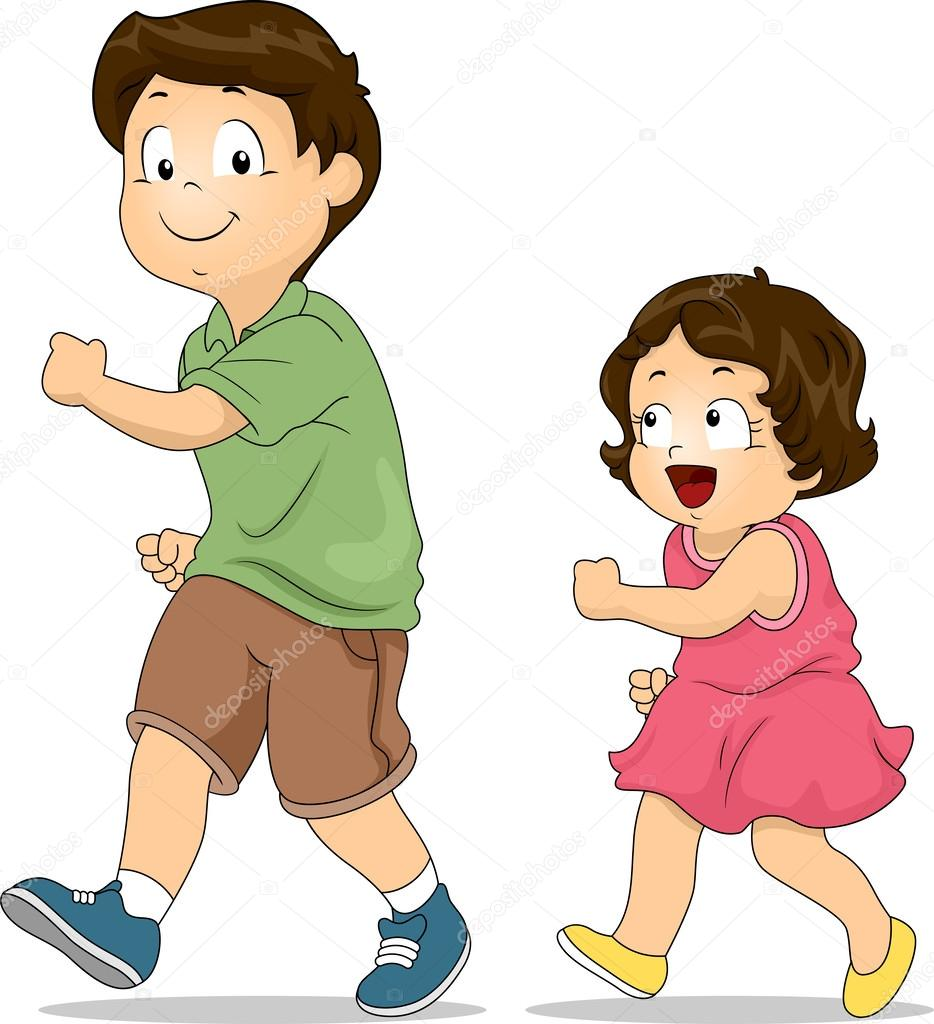 Clipart: sibling.