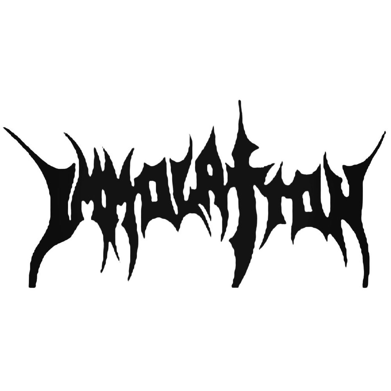 Immolation Band Decal Sticker.