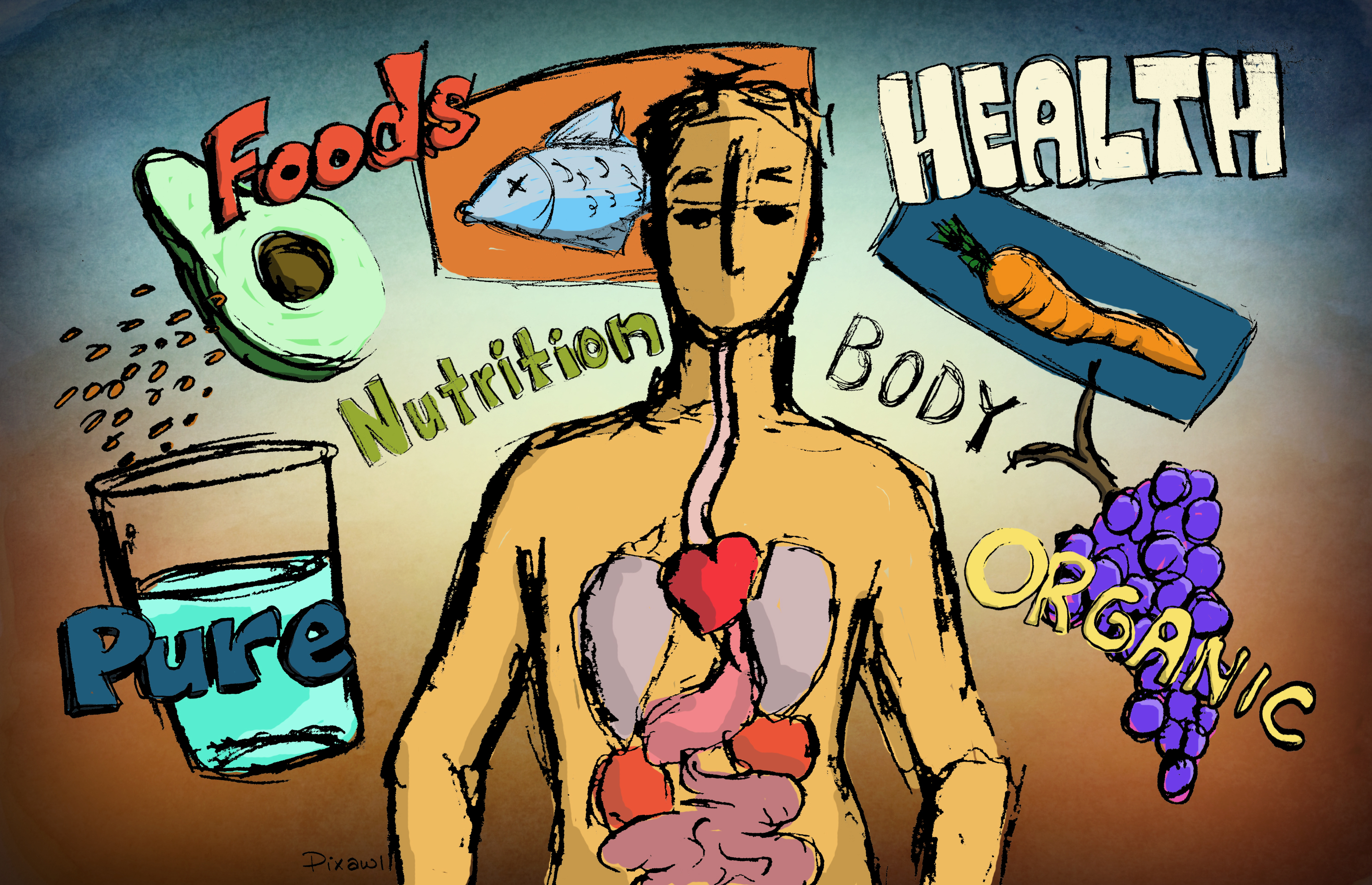 Free Health Illustration for Blogs Clipart Download.