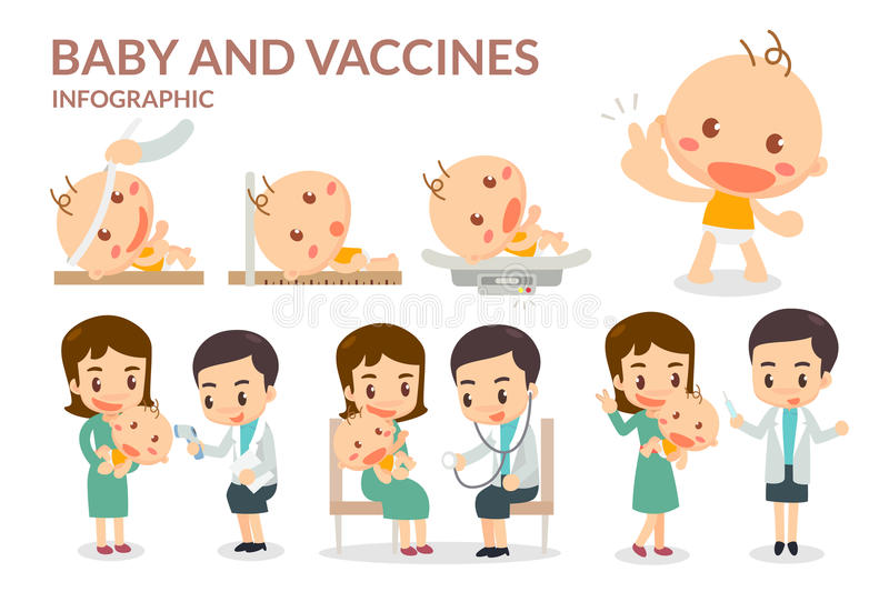Vaccination Stock Illustrations.