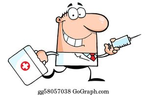 Vaccination Clip Art.