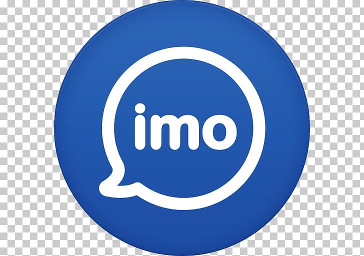 Electric blue brand trademark, Imo, Imo log PNG clipart.