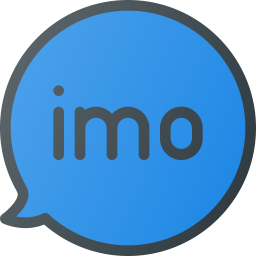 Imo Logo Icon of Colored Outline style.