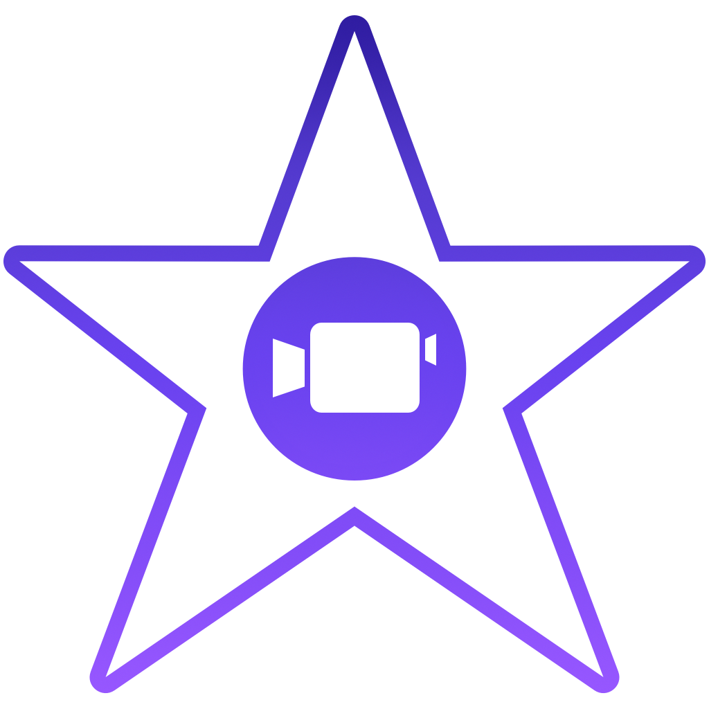 iOS 7 Mac icon project: iMovie (again).