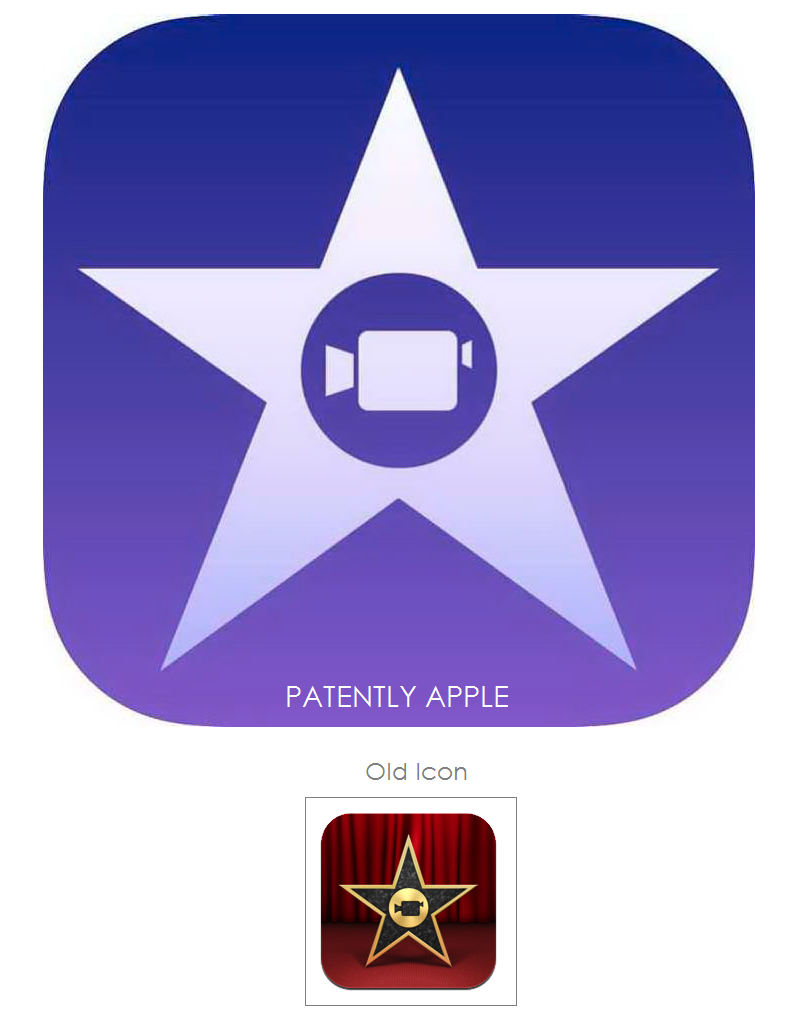 Apple Seeks Trademarks for new iPhoto and iMovie Icons.