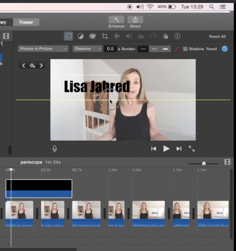 How to Add Text Overlays to iMovie.