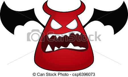 Vectors of Imp cartoon character csp6396073.